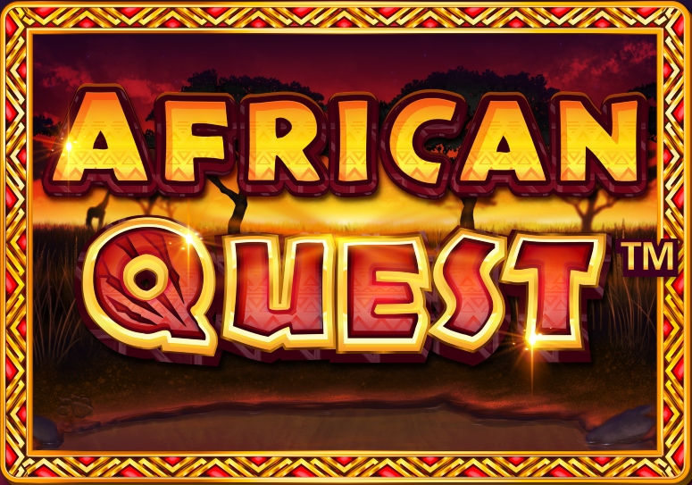 African Quest game logo