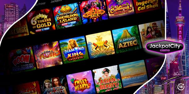 Jeux de casino en ligne JackpotCity