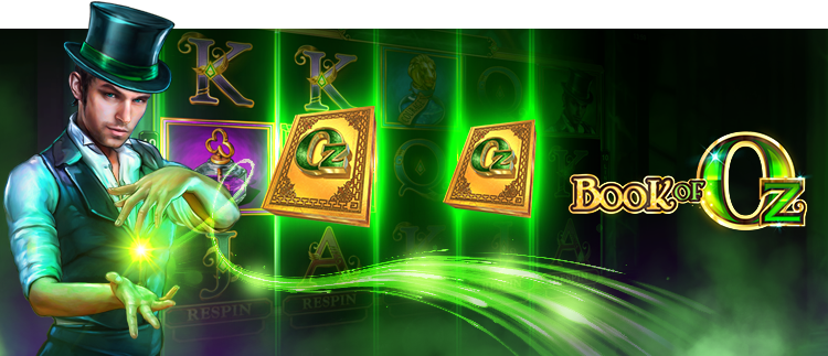 Book of Oz Online Slot Gaming Club