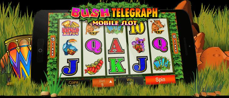 Bush Telegraph Online Slot Game Gaming Club Casino