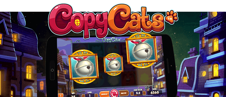 Copy Cats online slots gaming club