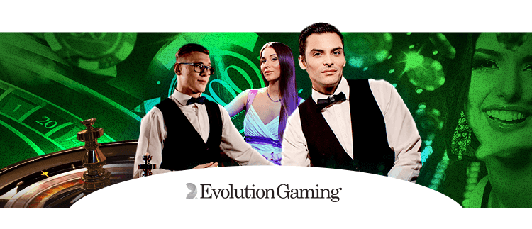 Evolution Live Roulette Gaming Club Online Casino