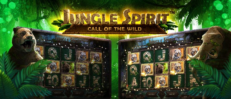 Jungle Spirit - Call of the Wild online slots gaming club