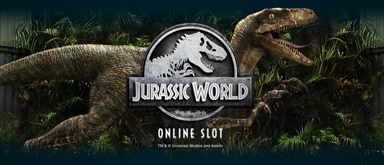 Jurassic World Online Slot Game Gaming Club Casino