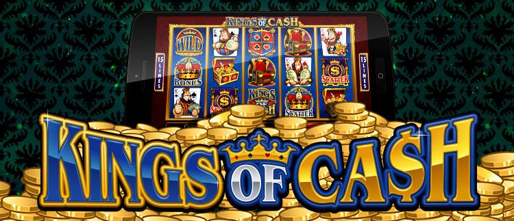 King of Cash Online Slot Game Gaming Club Casino