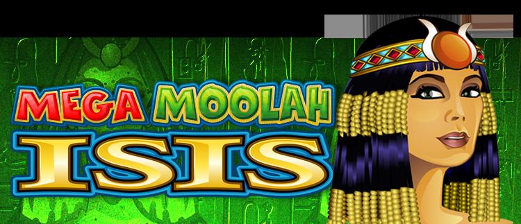 Mega Moolah Isis Progressive Jackpot Online Slot