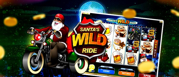 Santa's Wild Ride Online Slot Gaming Club Online Casino