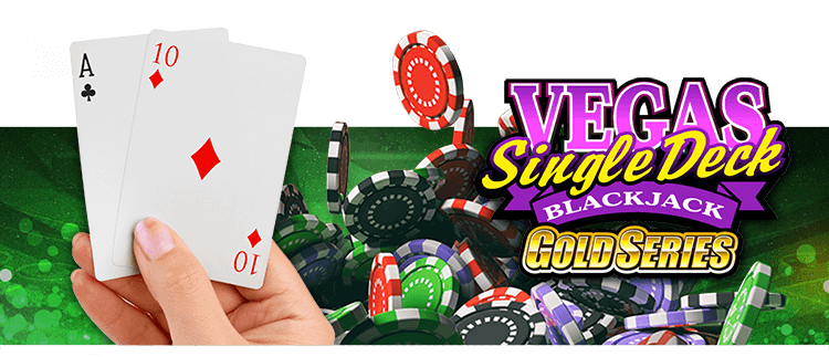 Vegas Single Deck Blackjack Gold Gaming Club Online Casino