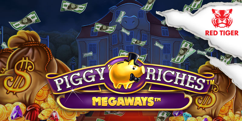 Piggy Riches Red Tiger