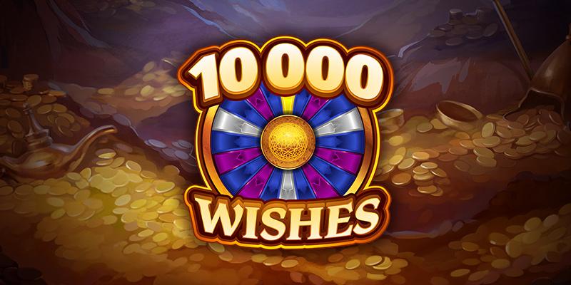 Rejoignez une aventure des mille et une nuits avec un méga jackpot dans 10 000 Wishes.