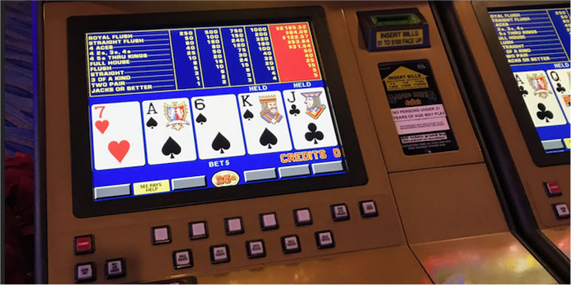 Classic Video Poker console