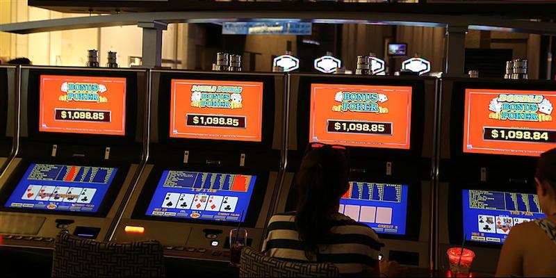 Video Poker machines in Vegas