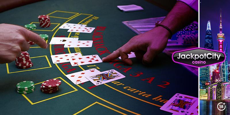 Kartenzählen beim Blackjack | JackpotCity Online Casino