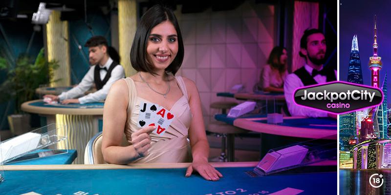 Livedealer Blackjack | JackpotCity Online Casino