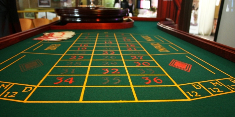 Roulette table; JackpotCity Casino Blog