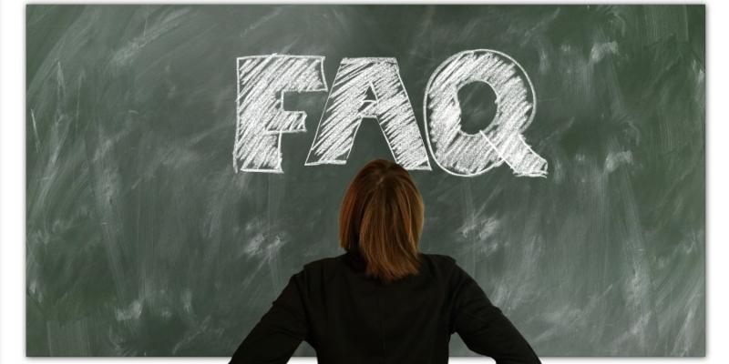 FAQ written on a blackboard; JackpotCity Casino Blog
