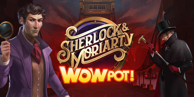 Sherlock & Moriarty WowPot! Online Slot
