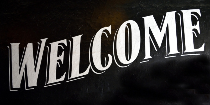 """Lettering spelling out """"Welcome""""; JackpotCity Casino Blog"""