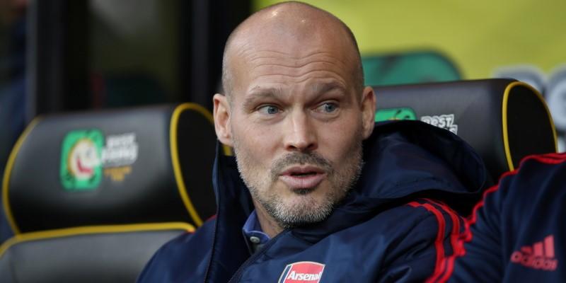 Interim Arsenal manager Freddie Ljunberg