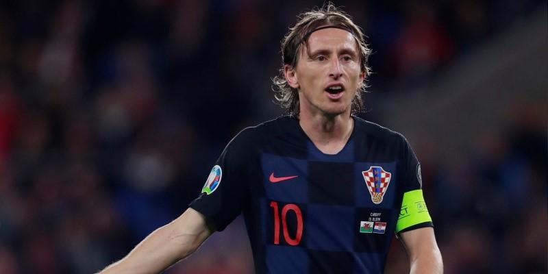 Croatia captain Luka Modric
