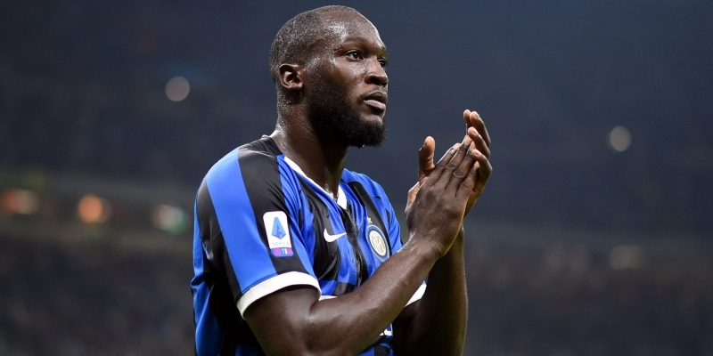 Inter striker Romelu Lukaku