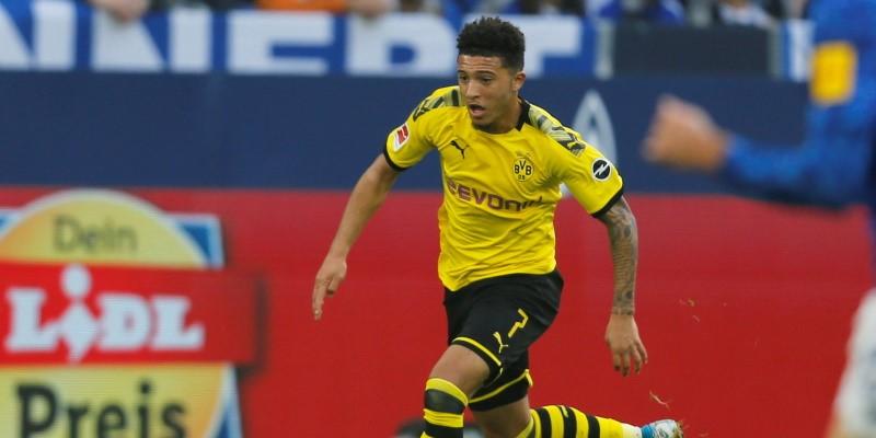Borussia Dortmund midfielder Jadon Sancho