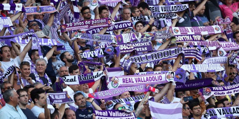 Real Valladolid supporters
