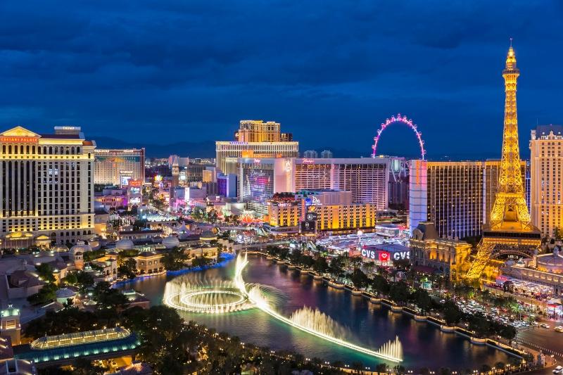 Las Vegas am Abend