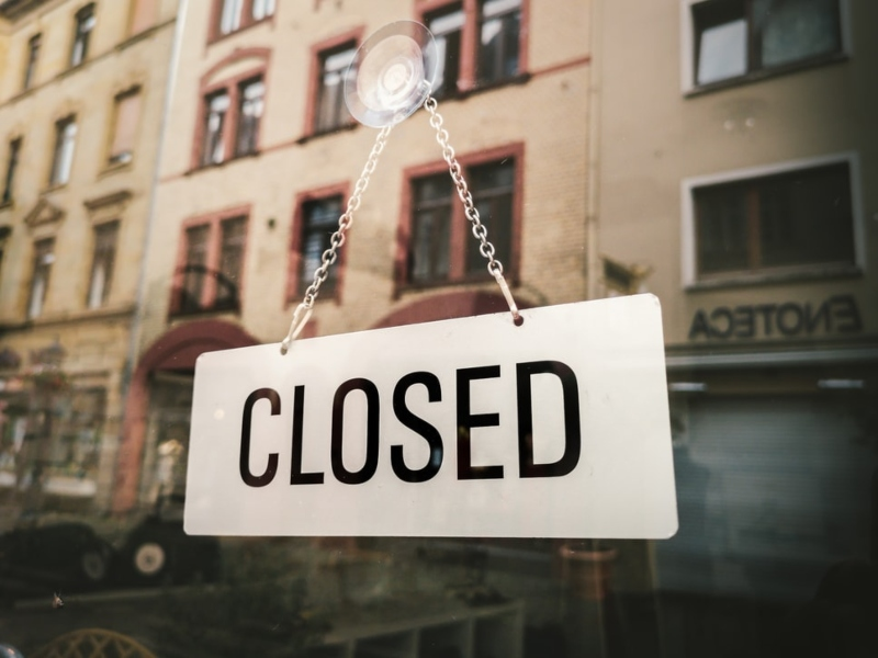 Many physical stores remain closed.