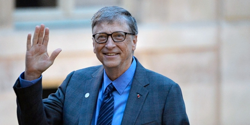 Bill Gates, the founder of Microsoft
