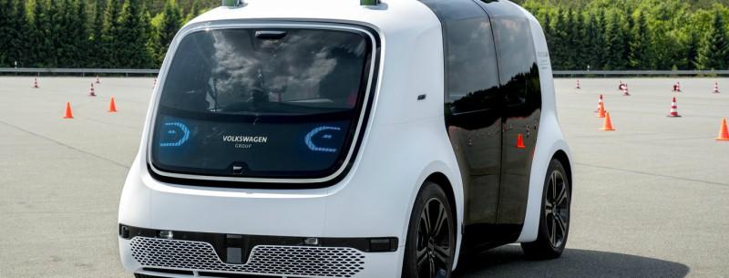 Coche autónomo nivel 5 - Modelo 'Sedric' de la VW