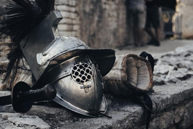 Indumentaria de gladiador romano