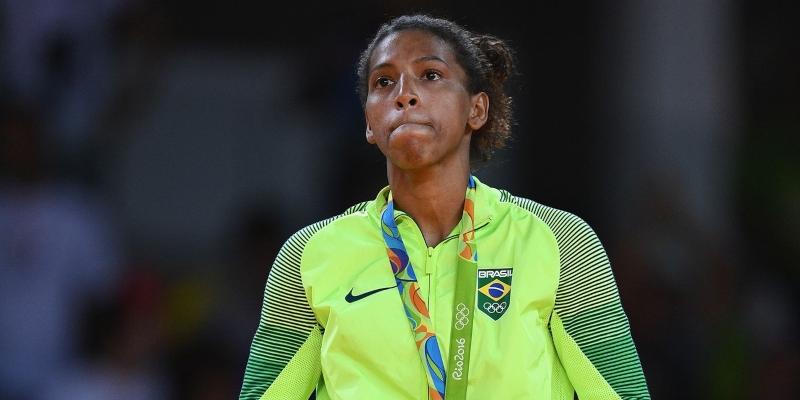 Rafaela foi medalha de ouro nas Olimpíadas do Rio, em 2016.