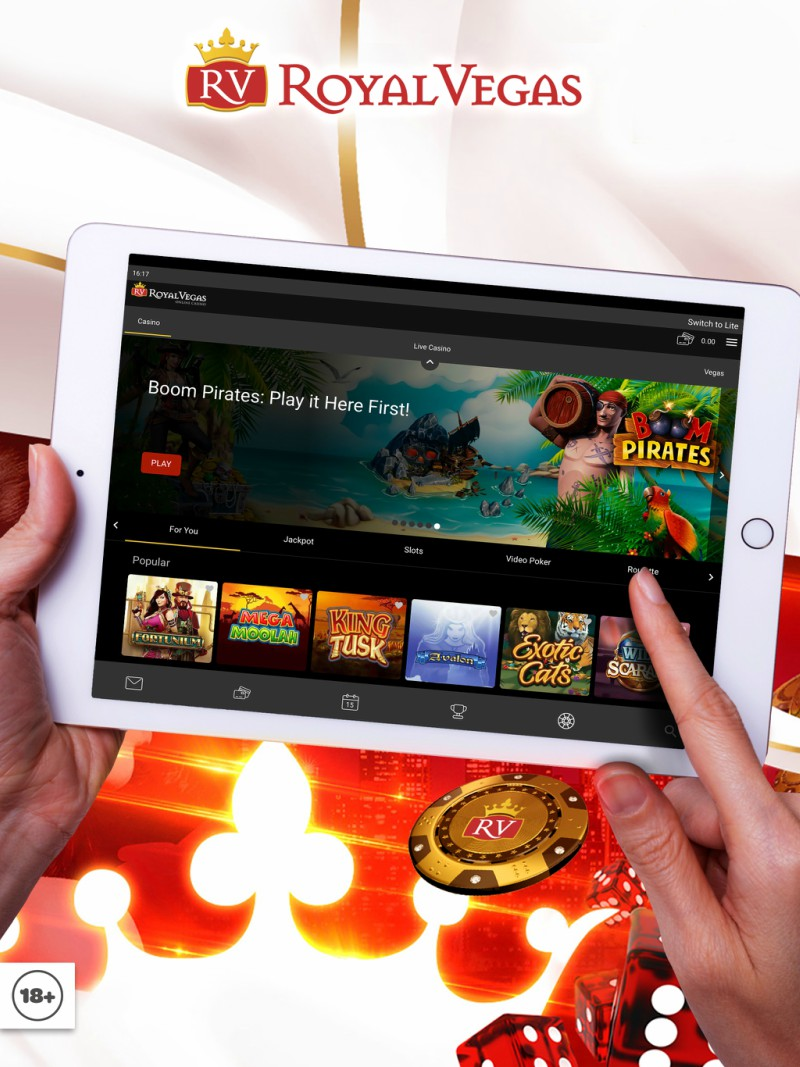 Royal Vegas Casino iPad App