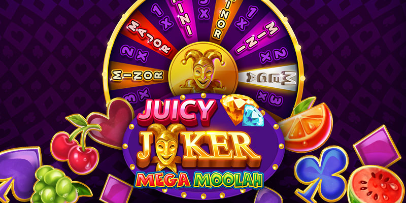Juicy Joker Mega Moola slot progressivos