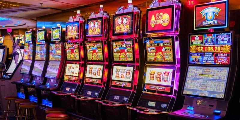 máquinas tragamonedas individuales de un casino tradicional