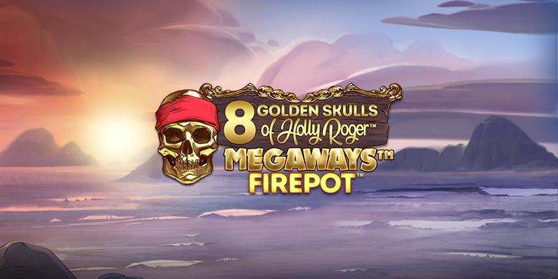 8 Golden Skulls of Holly Roger Online Slot