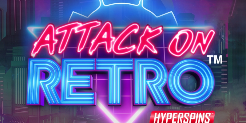 Attack on Retro Logo; Spin Palace Blog