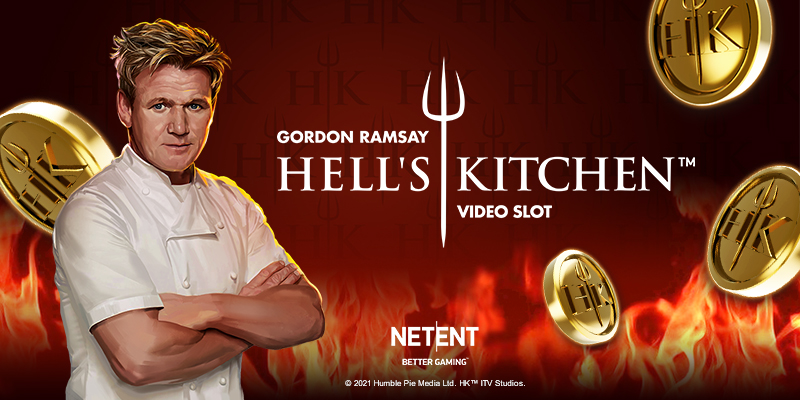 Have a taste of Gordon Ramsay Hell's Kitchen™ video slot by NetEnt.