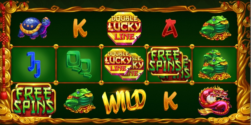 Double Lucky Line; Spin Palace Blog