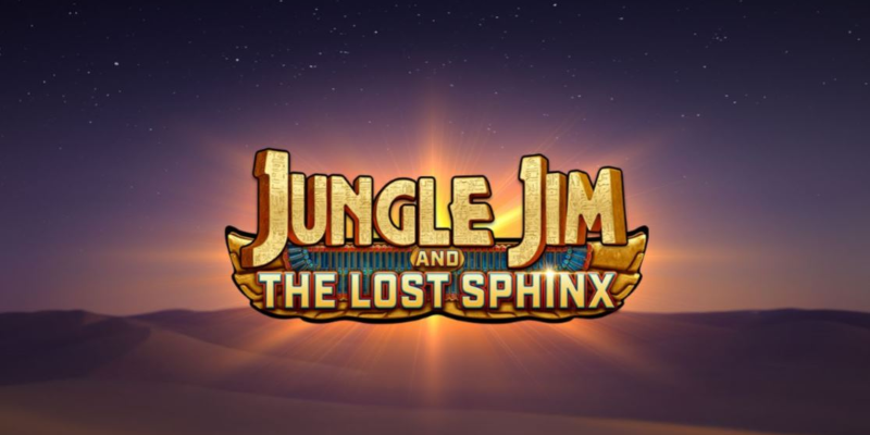 Jungle Jim and the Lost Sphinx logo; Spin Palace blog