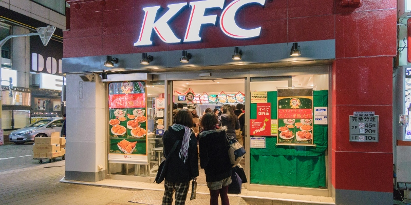 KFC in Japan often has lines and requires reservations on Christmas; Spin Casino Blog