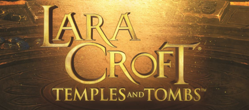Lara Croft , Temple and Tombs Logo; Spin Palace Blog
