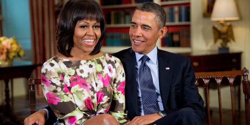 Barack et Michelle Obama; Spin Casino Blog