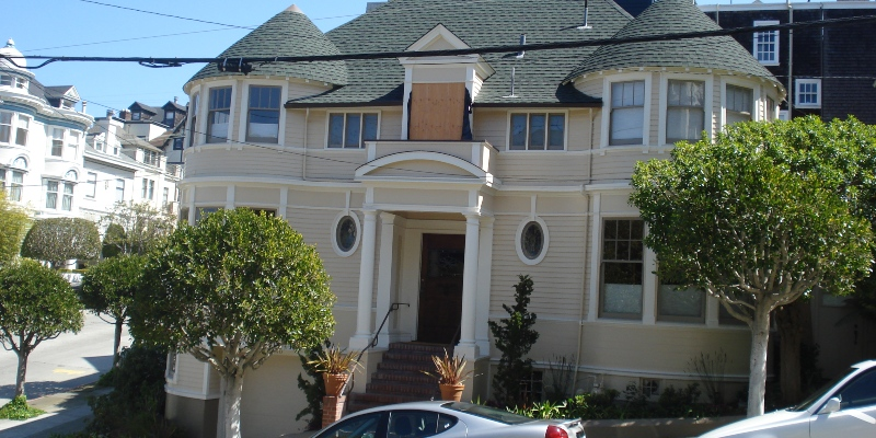 The famous house from Mrs Doubtfire.