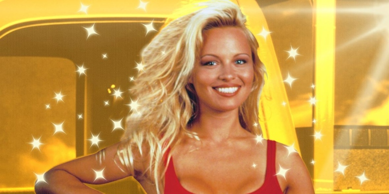 Pamela Anderson in her youth; Spin Casino Blog