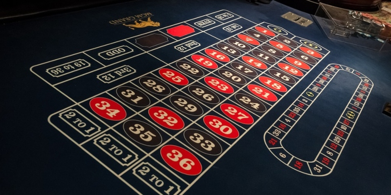 Roulette table; Spin Palace Blog