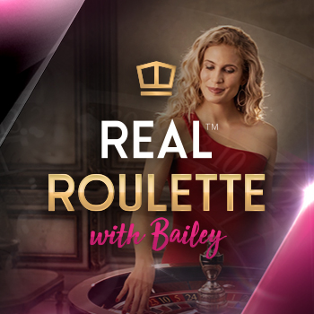 Real roulette with Bailey; Spin Palace Blog