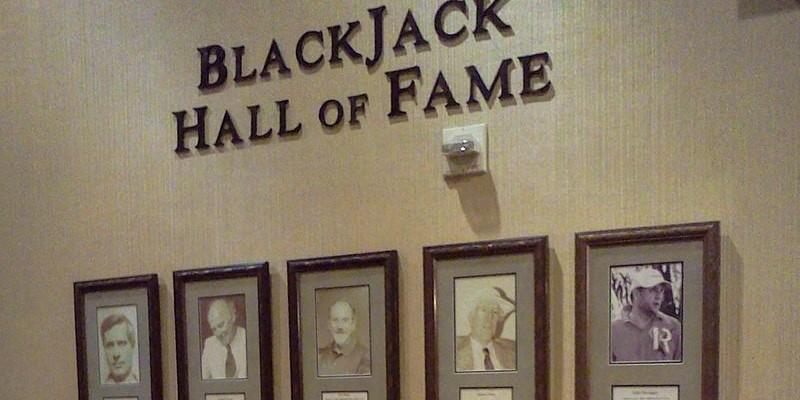 Fotos de algunos de los miembros del Salón de la Fama del blackjack en el Casino Barona; Spin Casino Blog