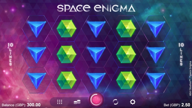 Space Enigma Spielweise; Spin Palace Blog
